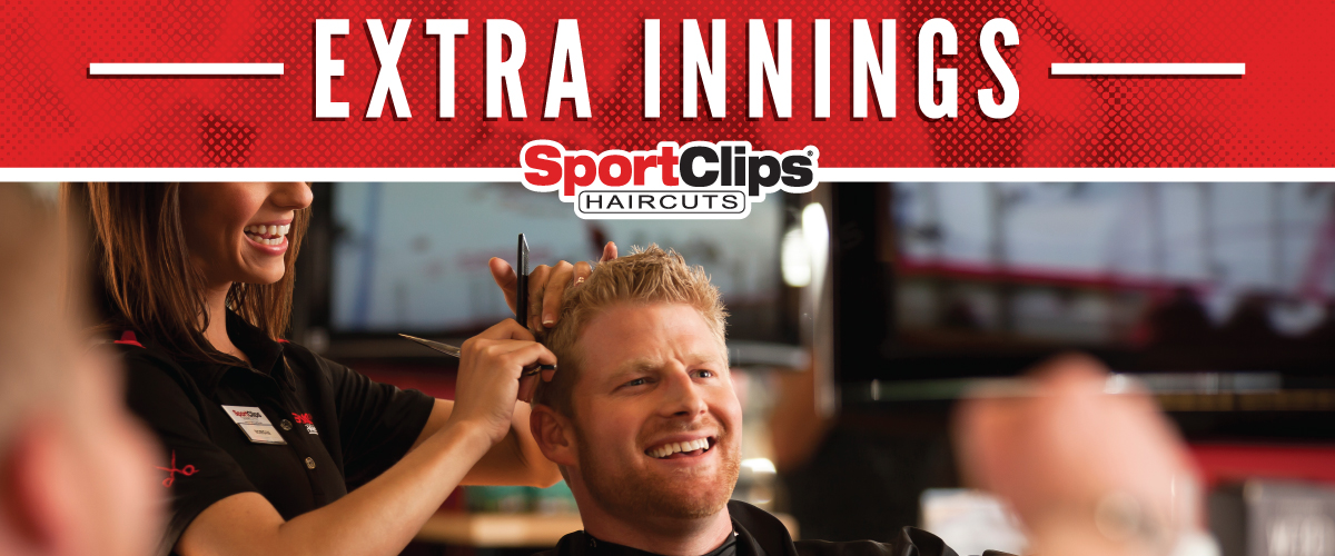 The Sport Clips Haircuts of Mt. Lebanon  Extra Innings Offerings